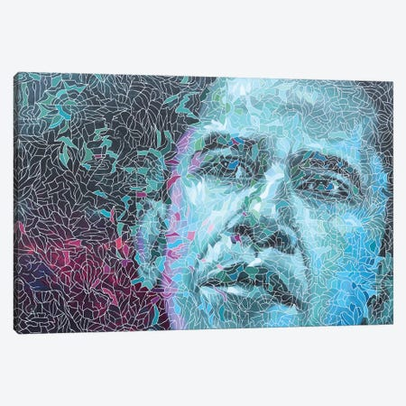 Obama Canvas Print #PLE33} by Peggy Lee Canvas Print