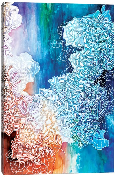 Paper Clouds Canvas Art Print