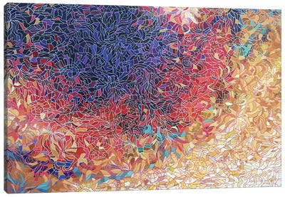 Beyond the Darkness Canvas Art Print