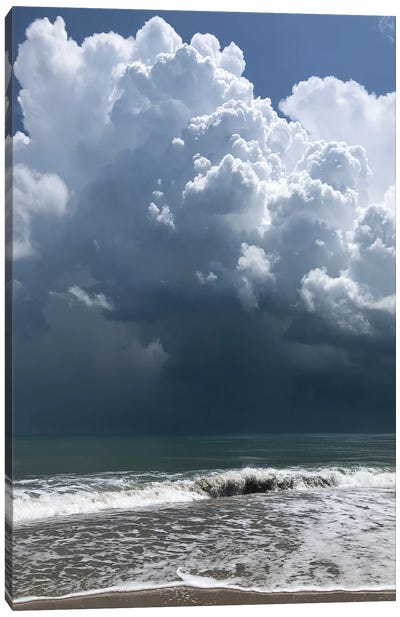 Stormy Clouds Canvas Art Print