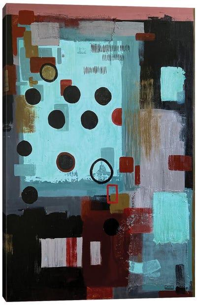 Polka Dots Canvas Art Print