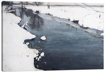 Silent Winter Canvas Art Print