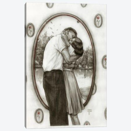 Couple Canvas Print #PLK15} by Polina Kharlamova Canvas Art
