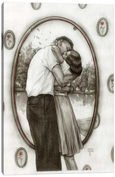 Couple Canvas Art Print