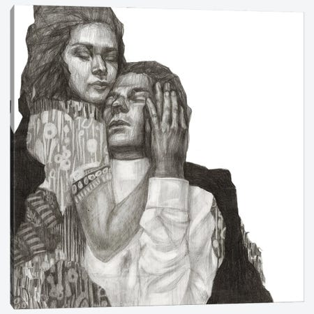Couple II Canvas Print #PLK16} by Polina Kharlamova Canvas Artwork