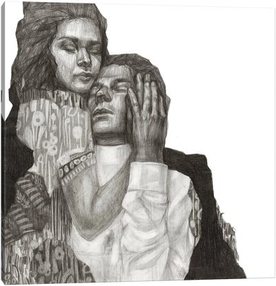 Couple II Canvas Art Print