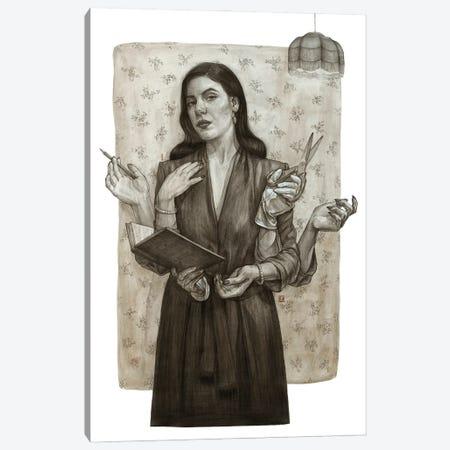 Sepia Canvas Print #PLK18} by Polina Kharlamova Canvas Print