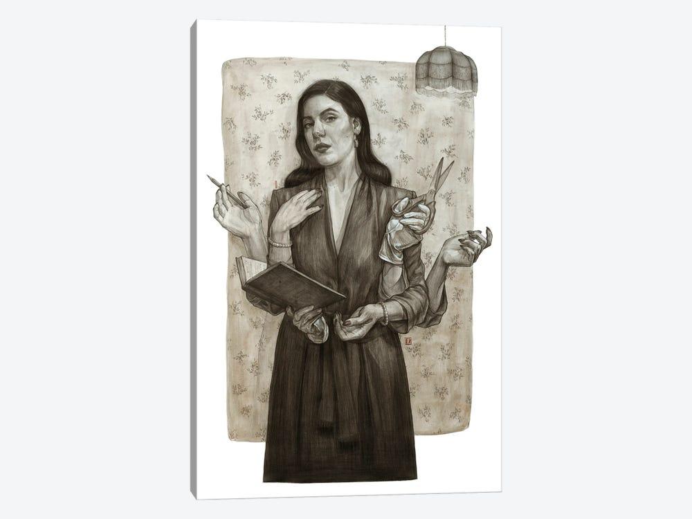 Sepia by Polina Kharlamova 1-piece Canvas Art Print