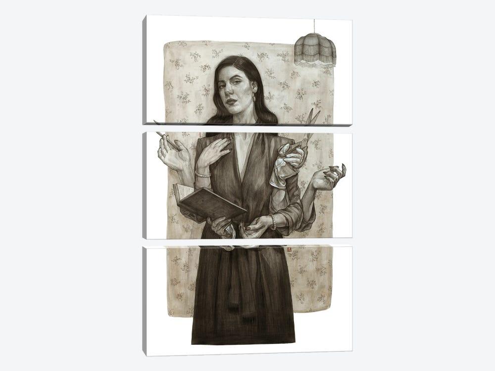 Sepia by Polina Kharlamova 3-piece Art Print