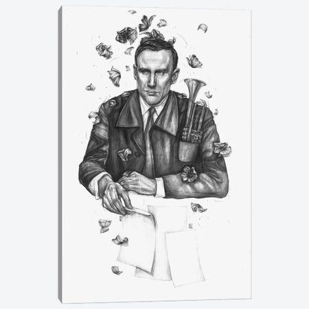 Jazzman II Canvas Print #PLK22} by Polina Kharlamova Canvas Wall Art