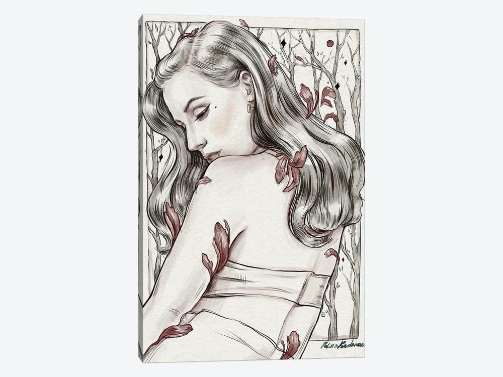 Dita by Polina Kharlamova 1-piece Canvas Wall Art