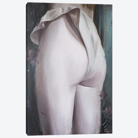 Magnolia Canvas Print #PLK32} by Polina Kharlamova Canvas Print