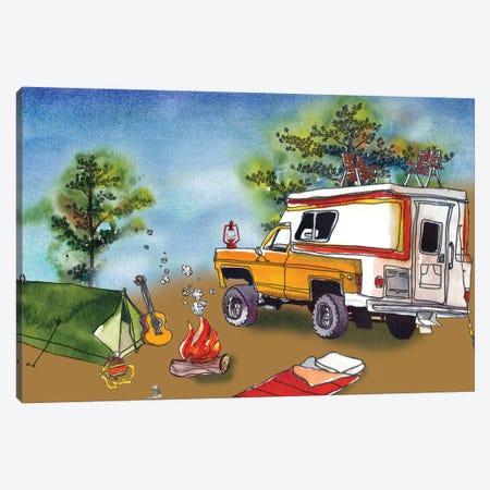 Camp Out I Canvas Print #PLM10} by Paul Mccreery Canvas Art Print