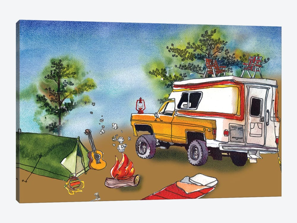 Camp Out I by Paul Mccreery 1-piece Art Print