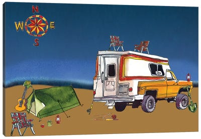 Camp Out II Canvas Art Print