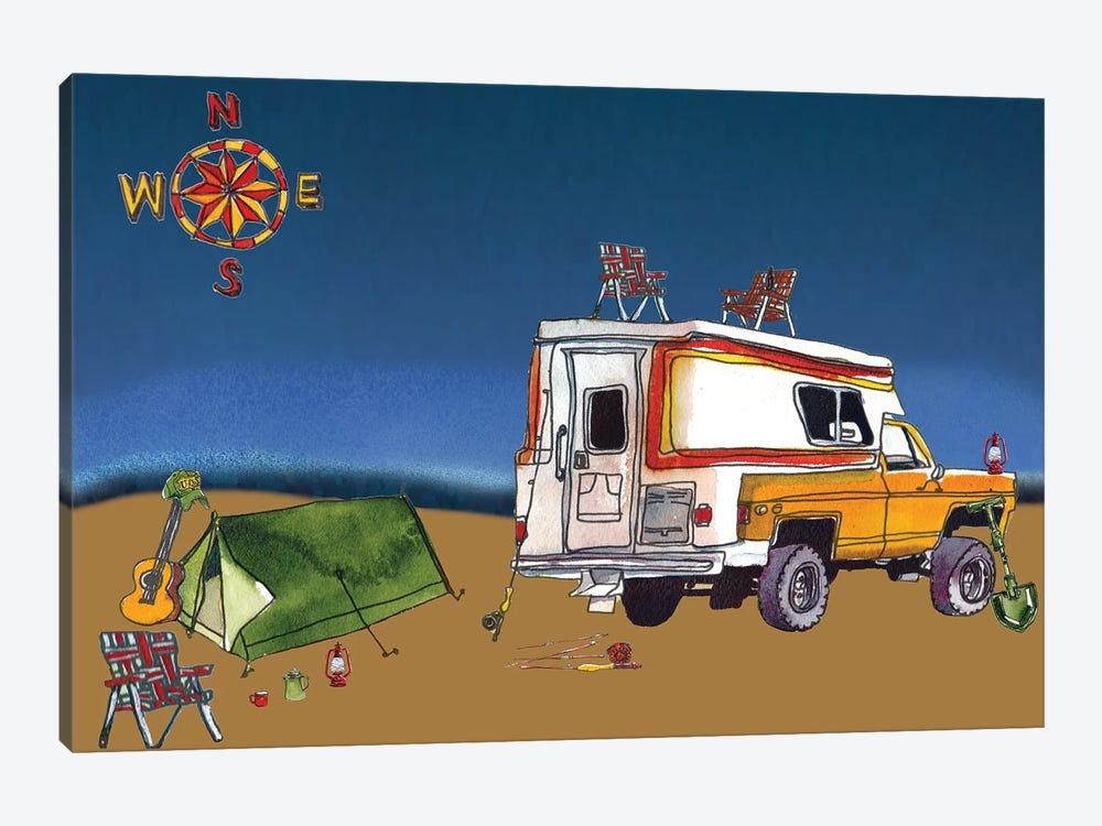 Camp Out II by Paul Mccreery 1-piece Canvas Art