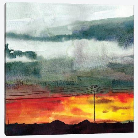 Night Sky II Canvas Print #PLM13} by Paul Mccreery Art Print
