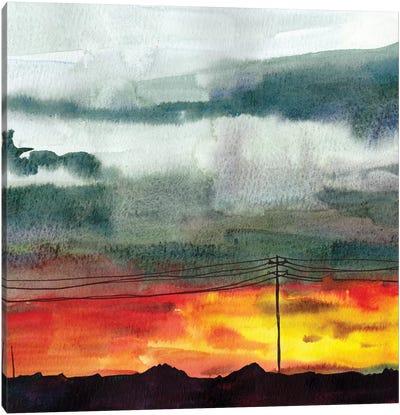 Night Sky II Canvas Art Print