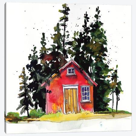 Rad Cabin III Canvas Print #PLM19} by Paul Mccreery Canvas Print