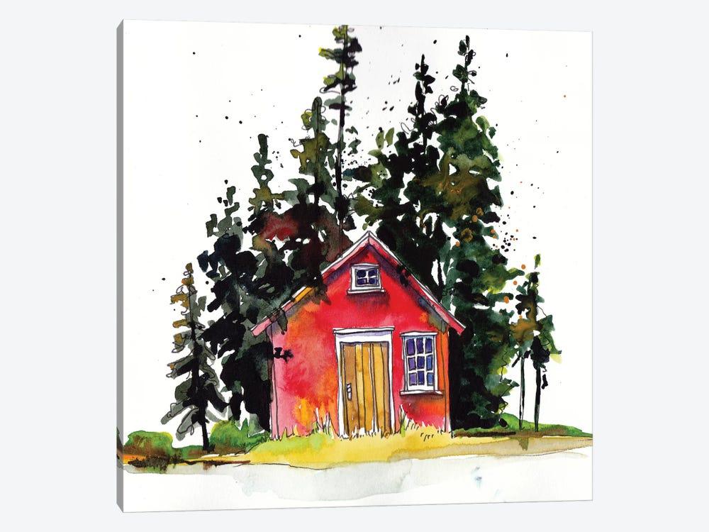 Rad Cabin III by Paul Mccreery 1-piece Canvas Artwork