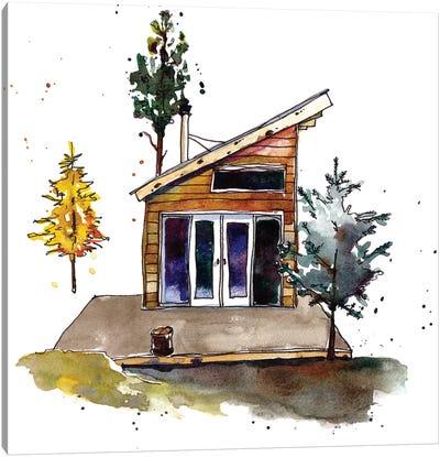 Rad Cabin IV Canvas Art Print