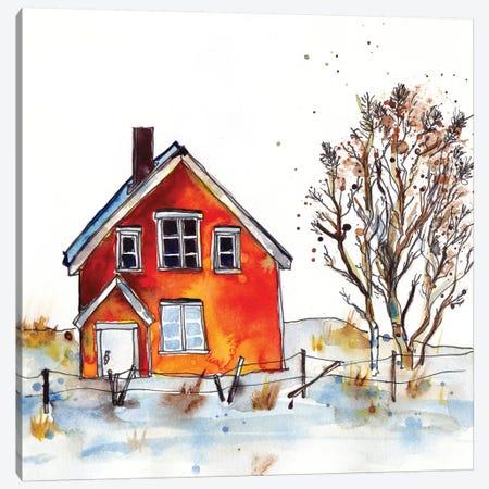 Rad Cabin V Canvas Print #PLM21} by Paul Mccreery Canvas Art
