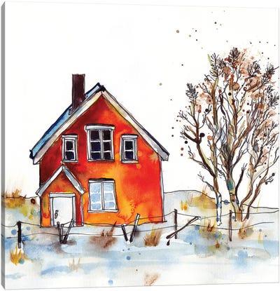 Rad Cabin V Canvas Art Print