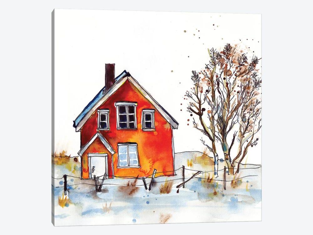 Rad Cabin V by Paul Mccreery 1-piece Canvas Art Print