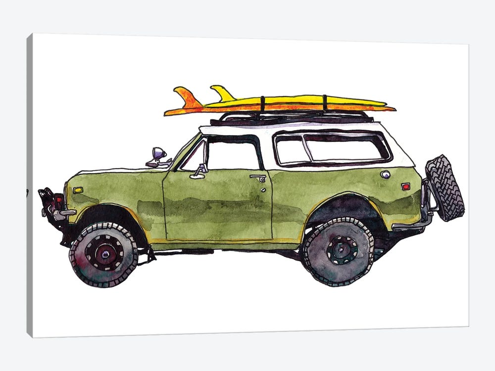Surf Car II by Paul Mccreery 1-piece Canvas Art Print