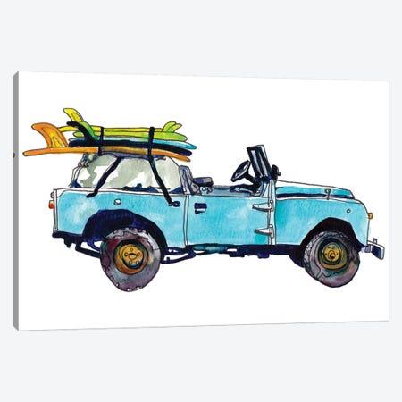Surf Car III Canvas Print #PLM24} by Paul Mccreery Art Print