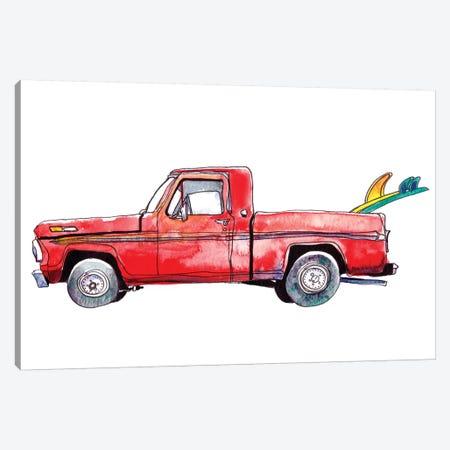 Surf Car IV Canvas Print #PLM25} by Paul Mccreery Art Print