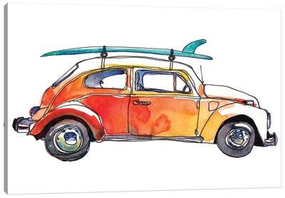 Surf Car V Canvas Art Print