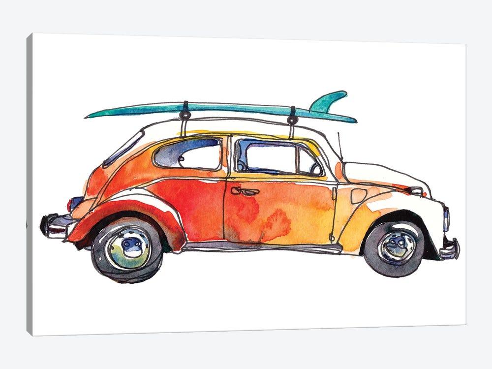 Surf Car V by Paul Mccreery 1-piece Canvas Print