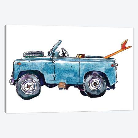 Surf Car VI Canvas Print #PLM28} by Paul Mccreery Canvas Artwork