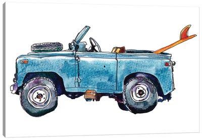 Surf Car VI Canvas Art Print