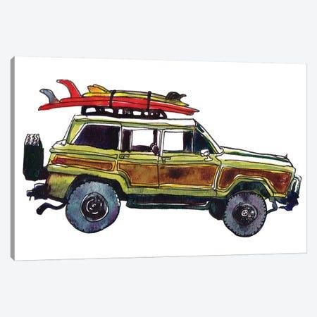 Surf Car VII Canvas Print #PLM29} by Paul Mccreery Canvas Wall Art