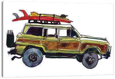 Surf Car VII Canvas Art Print
