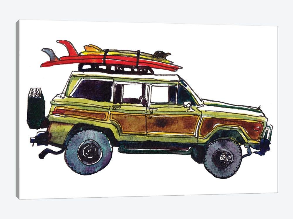 Surf Car VII by Paul Mccreery 1-piece Art Print