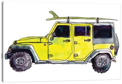 Surf Car VIII Canvas Art Print
