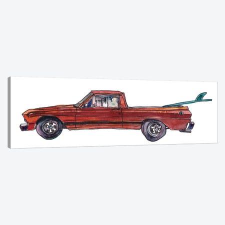 Surf Car X Canvas Print #PLM31} by Paul Mccreery Canvas Print