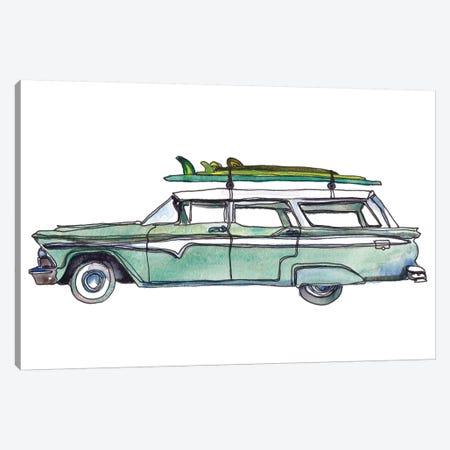 Surf Car XI Canvas Print #PLM32} by Paul Mccreery Canvas Print