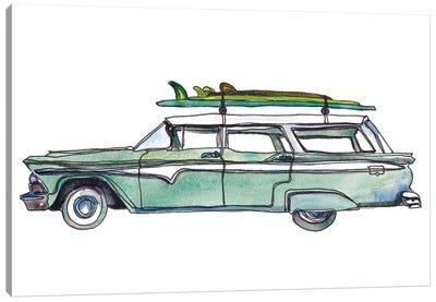 Surf Car XI Canvas Art Print