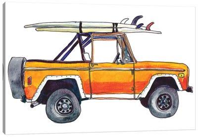 Surf Car XIII Canvas Art Print