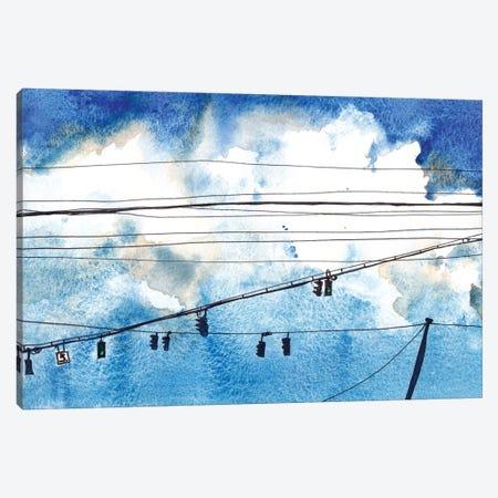 Urban Lines & Poles IV Canvas Print #PLM36} by Paul Mccreery Canvas Artwork