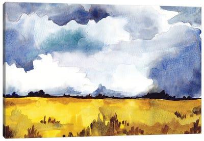 September Sky Studies II Canvas Art Print