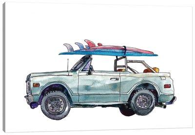 Surfin' Wheels I Canvas Art Print