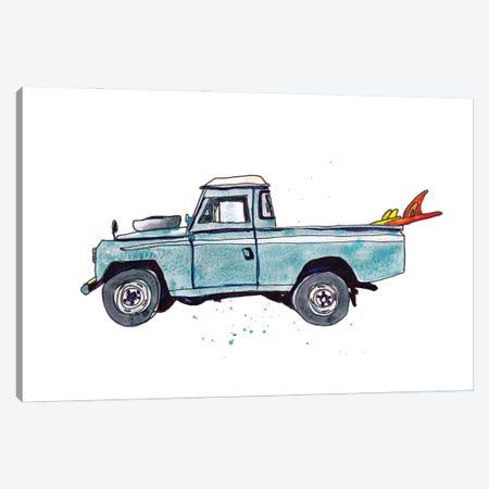 Surfin' Wheels III Canvas Print #PLM42} by Paul Mccreery Canvas Artwork