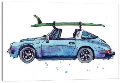 Surfin' Wheels IV Canvas Art Print