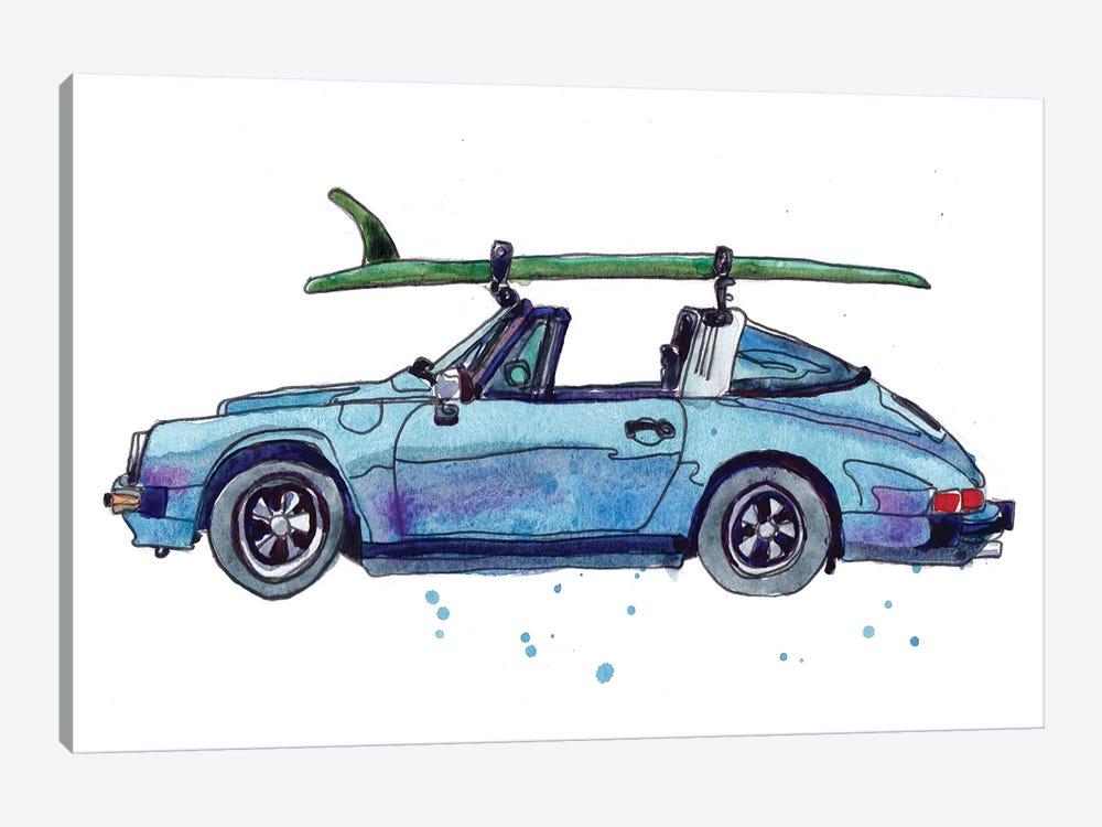 Surfin' Wheels IV by Paul Mccreery 1-piece Canvas Art Print