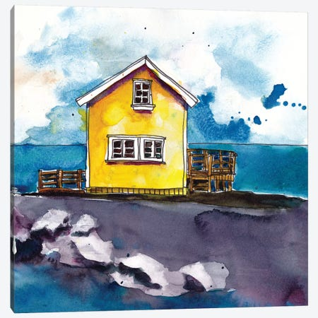 Cabin Scape I Canvas Print #PLM4} by Paul Mccreery Canvas Artwork